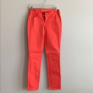 Coral Sweetheart Pants